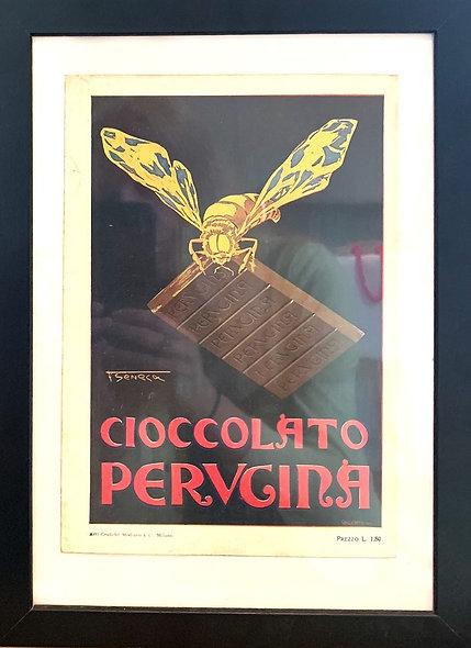 Vintage Cioccolato Perugina Print