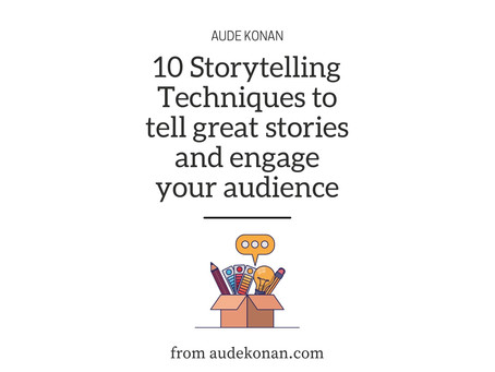 5 techniques to become better at Storytelling: The Ultimate Guide