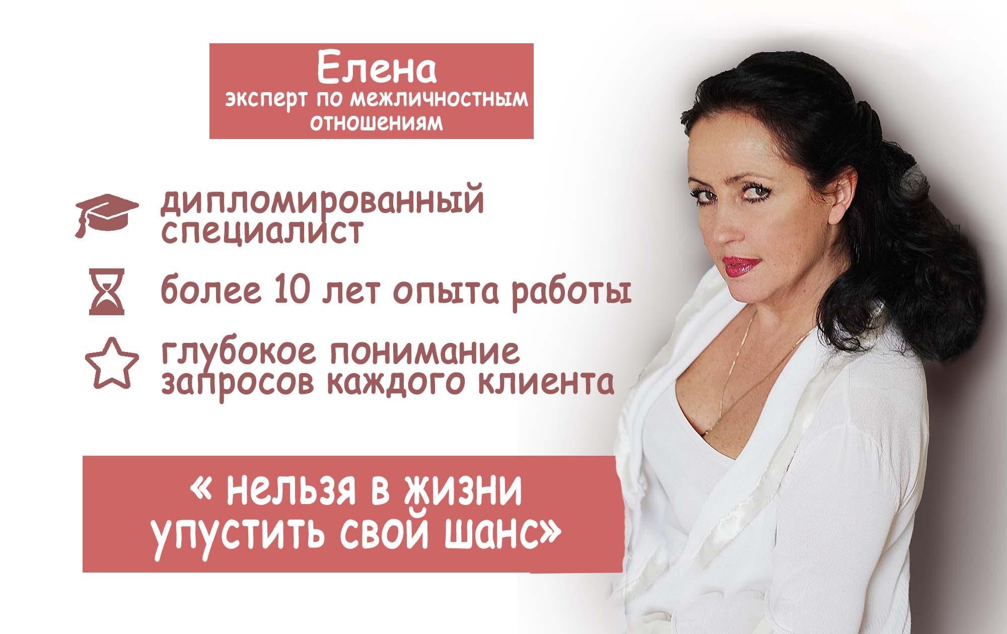 Елена 1+1