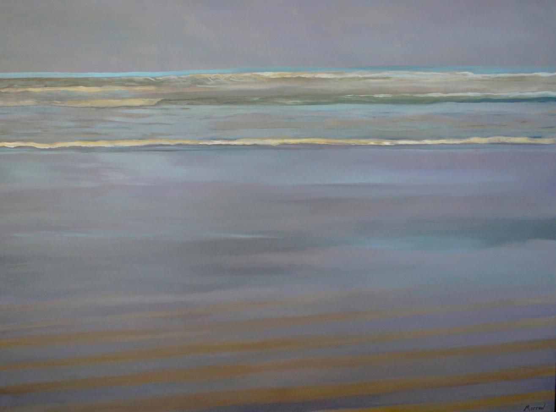 Beach with Tourquoise Horizon