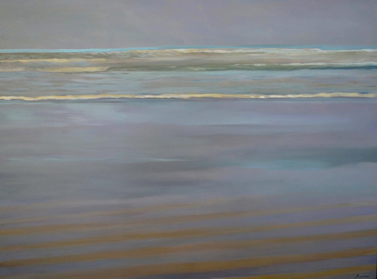 Beach with Turquoise Horizon
