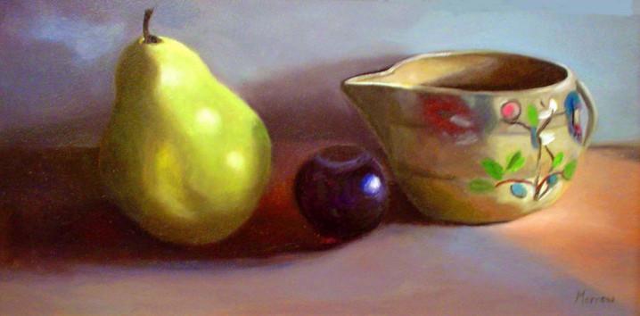 Plum, Pear & Old Dish