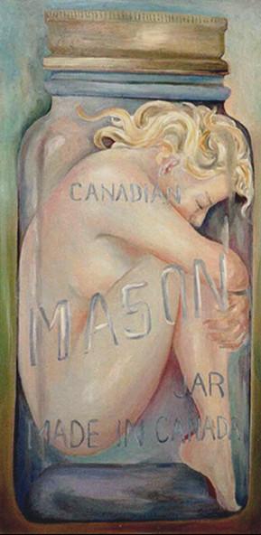 Woman in a Mason