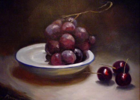 Cherries & Grapes