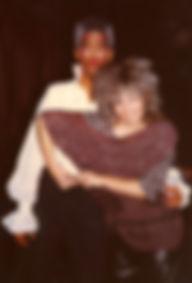 Loz-Ann McCarthy and Gordon