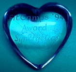 Loz-Ann McCarthys - Inspirational crystal heart award winner