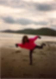 Loz-Ann McCarthy inch beach