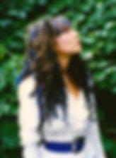 Loz-Ann McCarthy blue hair