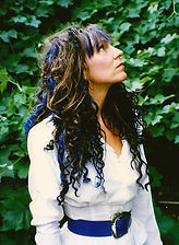 Loz-Ann McCarthy blue hair