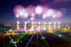 Skyworks 2013 Laser & Fireworks