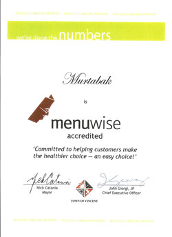 Murtabak Menuwise