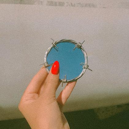 tiny bb circle mirror