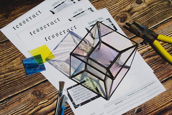 tesseract pattern (3d)