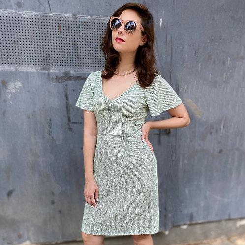 שמלת לילי-אן ירוק