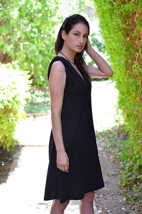 שמלת טינה שחורה