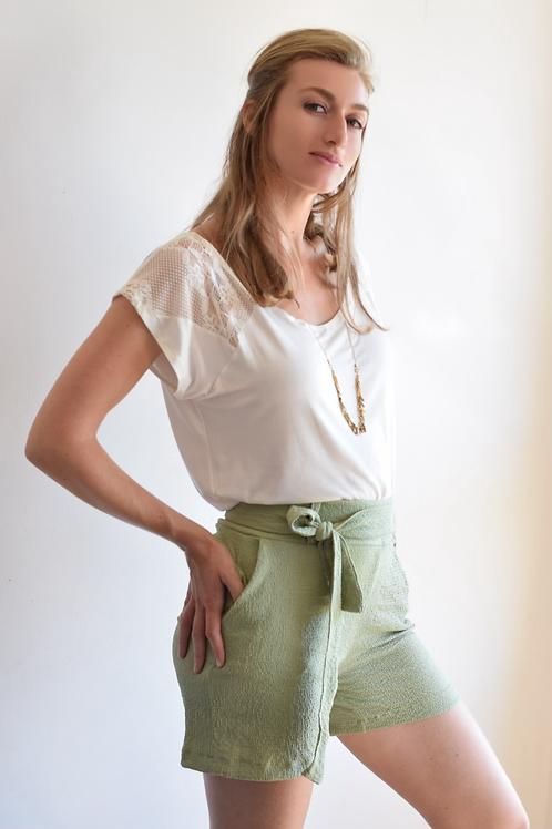 מכנסי המפטונס ירוק מנטה
