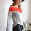 Thumbnail: חולצת אוסקר אפור/אדום