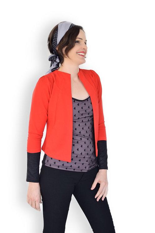 הז'קט המושלם אדום