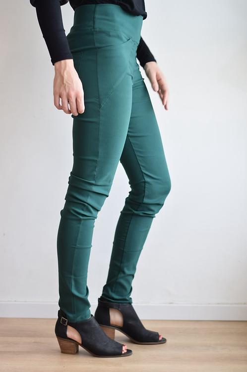 מכנסי סופר סקין ירוק בקבוק