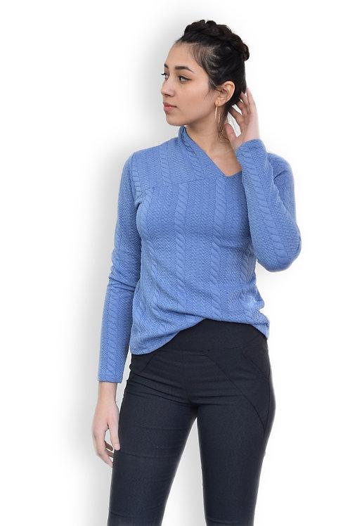 חולצת פוטר אסימטרית