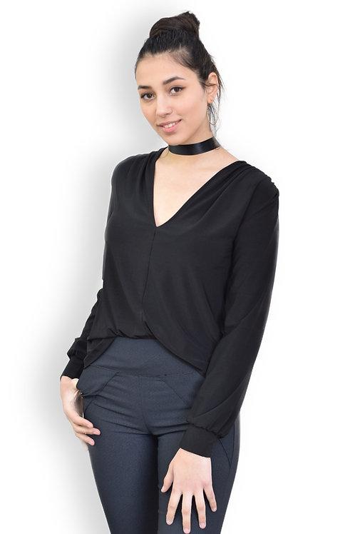 חולצת עדן שחור