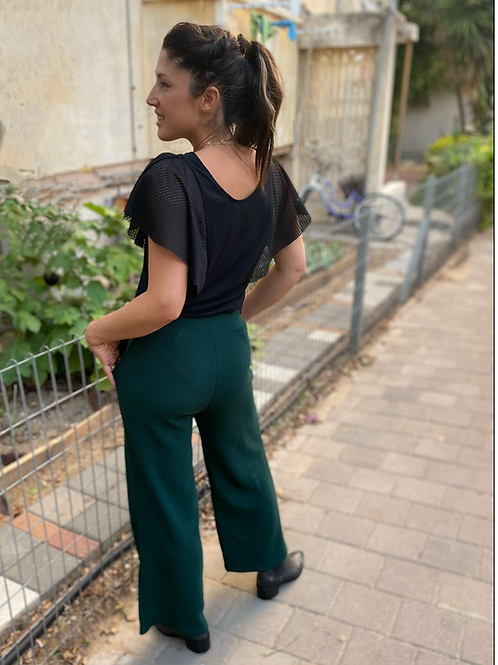 מכנסי רטרו ירוק