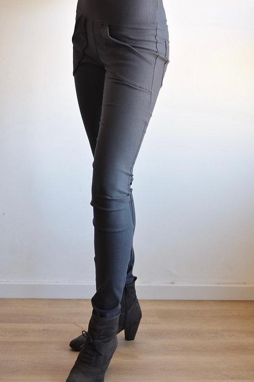 מכנסי בליס אפור כהה