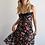 Thumbnail: שמלת קולורדו שחור פרחוני
