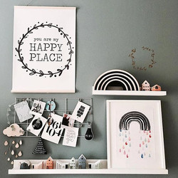 _ happy place __I have a soft spot for this print, which was inspired (like many others) by my daugh