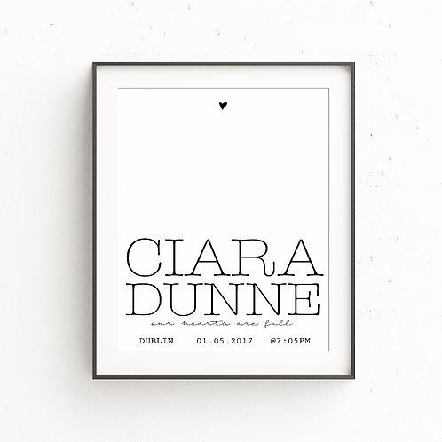 CIARA | Custom Print