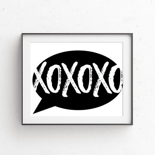 XOXOXO | Bubble Speech