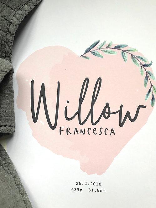 WILLOW | Custom Print