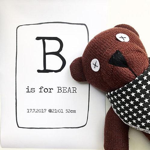 BEAR | Custom Print