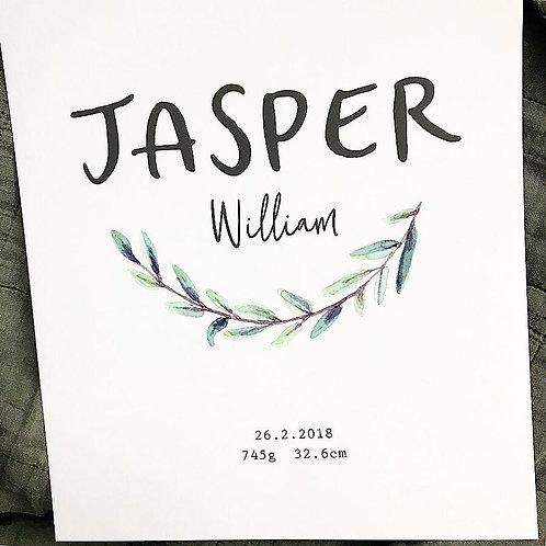 JASPER | Custom Print