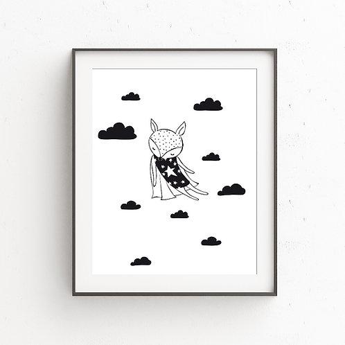FLY HIGH Fox | Illustration