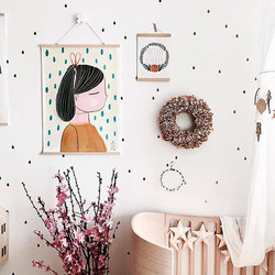 """_ S P R I N G 🍃 __A gorgeous, bright and inspiring room by _ella_and_tinyt featuring our """"HELLO LOV"""