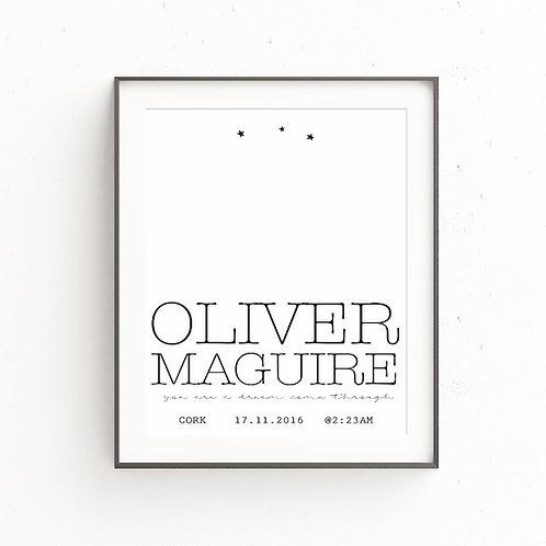 OLIVER | Custom Print