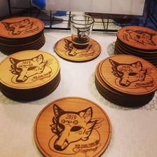 NYFB Coasters
