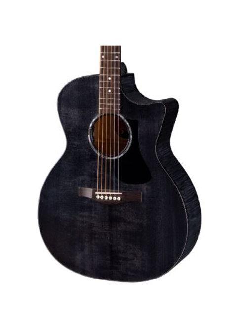 Eastman PCH3-GACE-TBK Grand Auditorium Acoustic Electric Guitar