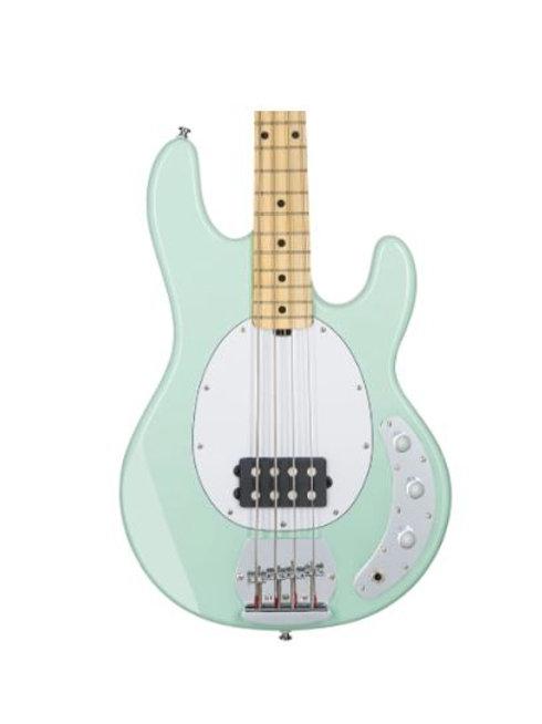 Sterling StingRay Ray4 Bass Guitar, Mint Green