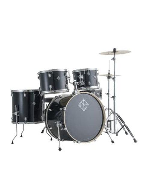 Dixon Spark 5 Piece Drum Set, Black