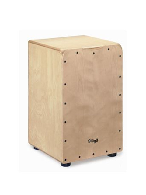 Stagg CAJ-50MN Cajón with Natural Front