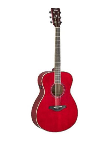 Yamaha FS-TA-RR Ruby Red TransAcoustic Electric Guitar
