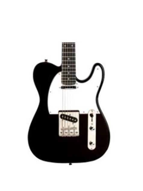 Austin AST200BK Single Cutaway Electric Guitar