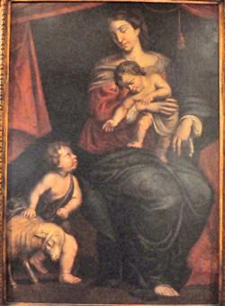 Mare de Déu amb el Nen Jesús i Sant Joanet