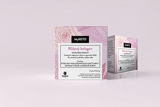 Růžový kolagen-anti-aging