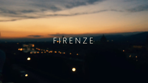 Florence: Cinematic travel film