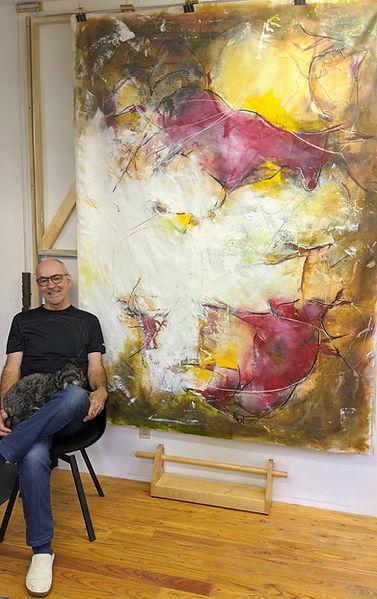 Alain Talbot, peintre