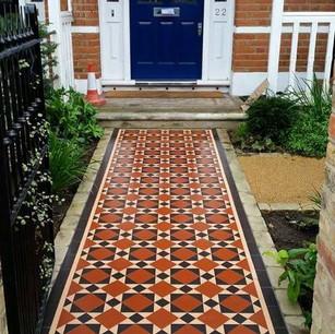 Front tiling