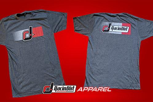 RacinDirt Grey Logo T-Shirt